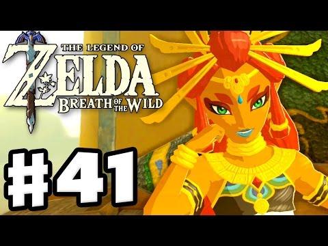 Riju and Gerudo Town! - The Legend of Zelda: Breath of the Wild - Gameplay Part 41