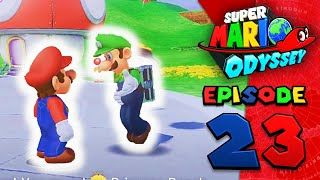 Hide and Seek ll Koops Plays: Super Mario Odyssey Blind Episode 23