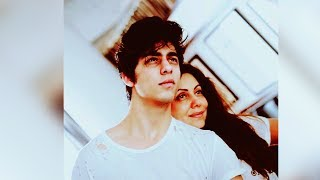 Aryan Khan DITCHES Father Shahrukh Khan, Poses With Mom Gauri On Father's Day