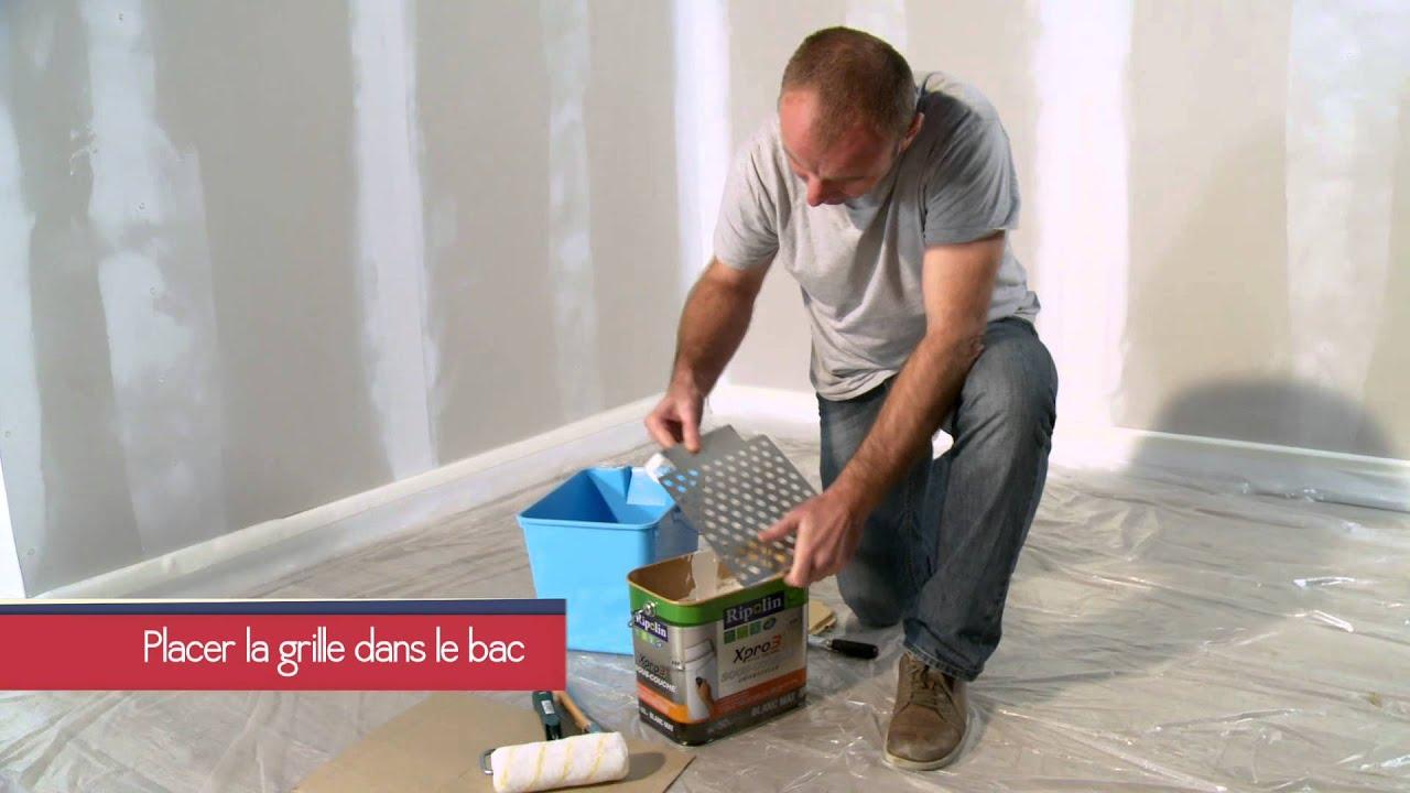 Conseils pour peindre avec une sous couche ripolin youtube for Conseil pour peindre un plafond