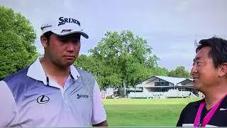 松山英樹・第99回全米プロゴルフ選手権・最終日インタビュー3