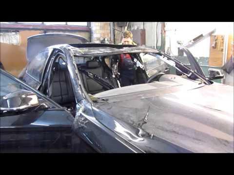 BMW 5. Body repair. Ремонт кузова.