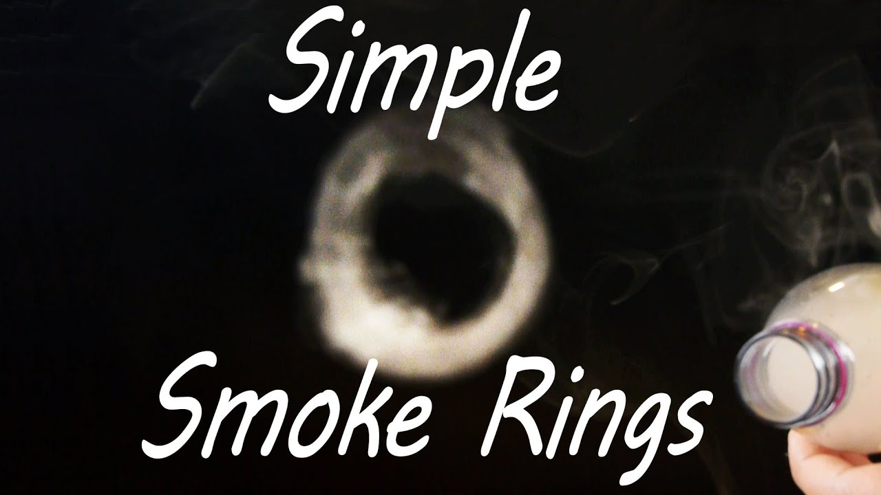 How to let the rings out of the smoke