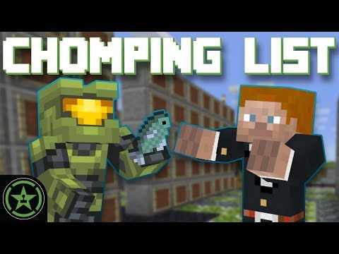 Let's Play Minecraft - Episode 310 - Chomping List