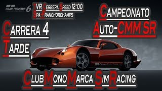GT6 - Carrera 4 Campeonato Auto-CMM SR Finde - 17-11-2017