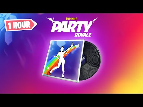 Fortnite - Star Power Remix Music Pack (Party Royale Lobby Music) | 1 HOUR