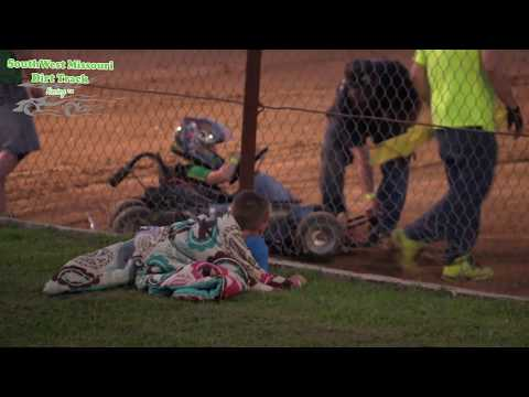 Dallas County Raceway Go Kart Racing Jr  1 A Feature August 1, 2017