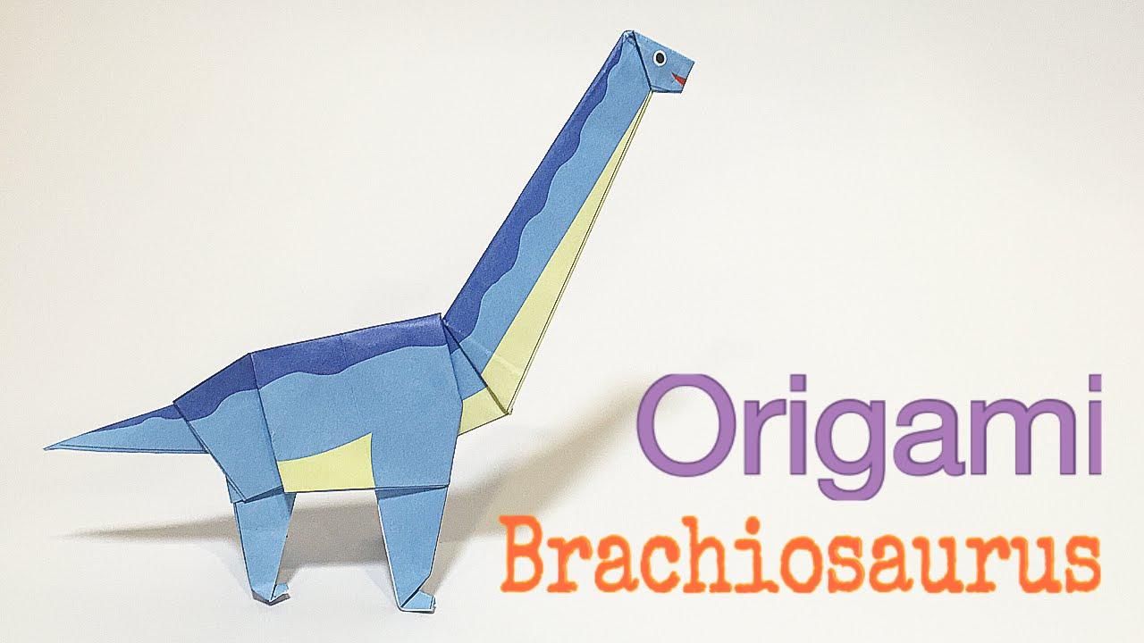 ORIGAMI T-REX (Jo Nakashima) - Dinosaur #5 - YouTube | 720x1280