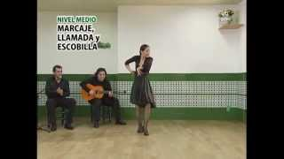 "How to dance ""Solea"" - Metodo de Baile Flamenco - from DVD メルセデス・ルイス「ソレア」"