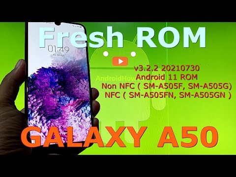 Fresh ROM v3.2.2 for Samsung Galaxy A50 Android 11