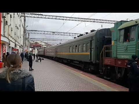 Дагестан, Махачкала, ж/д вокзал и привокзальная площадь (Dagestan, Makhachkala, Railway Station)