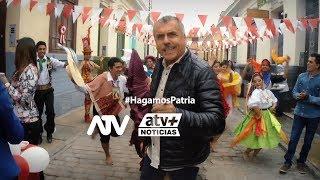 #HagamosPatria: Felices fiestas patrias te desea el Grupo ATV