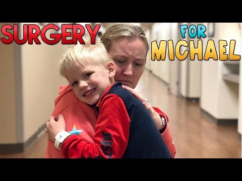 Michael's Surgery    Mommy Monday