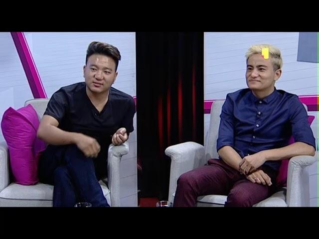 Fashion Designers Yubi Thapa And Manish Rai Livon The Evening Show At Six Youtube