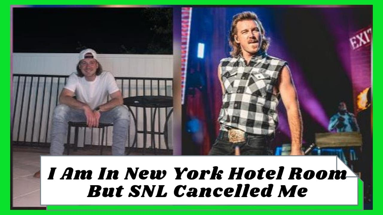 Morgan Wallen loses spot on SNL for what he did this weekend
