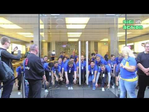 iPhone 6 Hype in Munich: Countdown Verkaufsstart @ Apple Store Munich Rosenstrasse