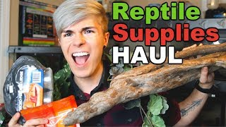 Reptile Supplies Haul & Expo Vlog!