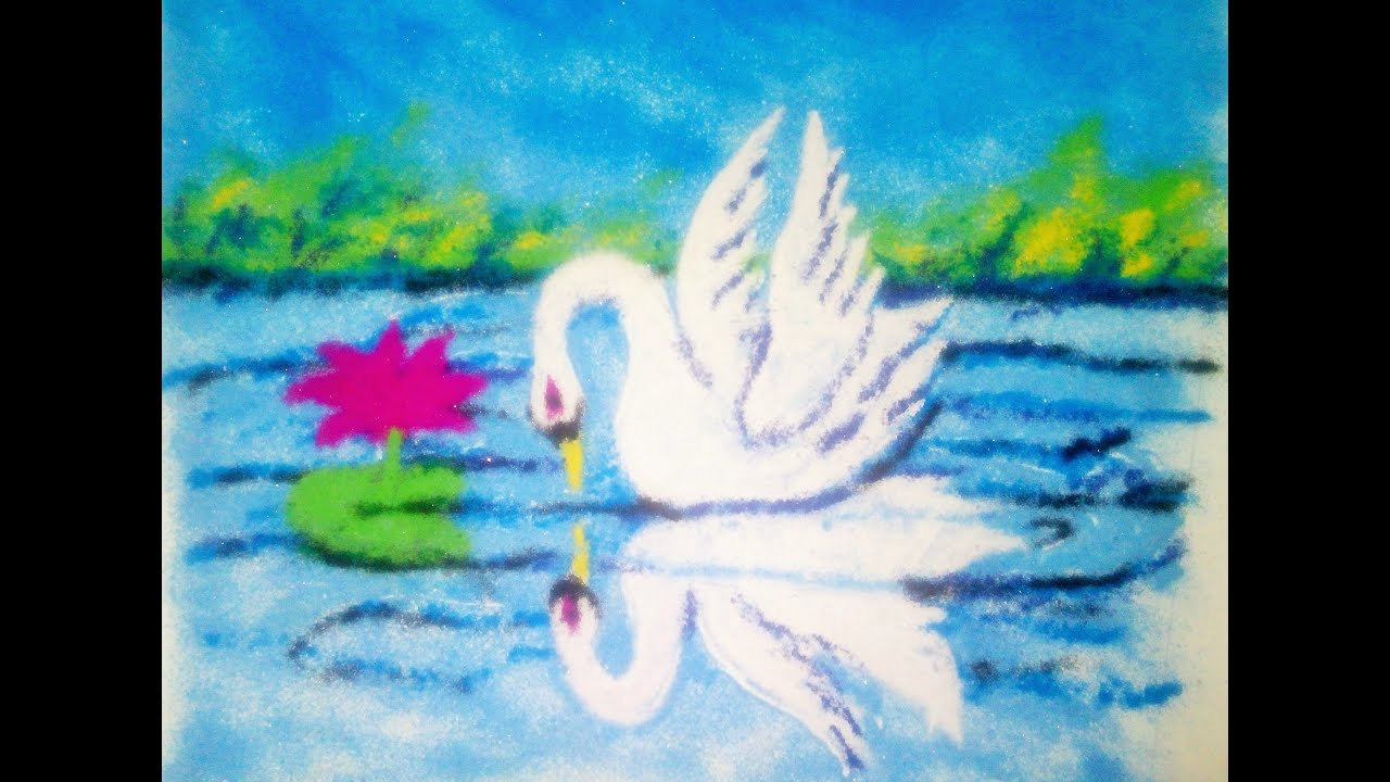 Easy and beautiful rangoli design free hand for Simple and beautiful