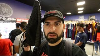 WORLDS BIGGEST ADIDAS YEEZY!!