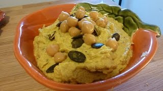 Homemade Pumpkin Hummus Recipe Thumbnail