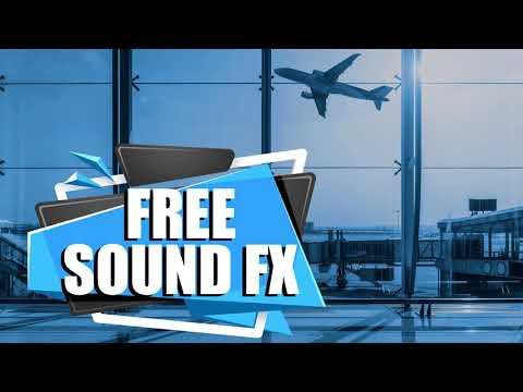 Airplane Sound Effect, Free Sound FX.
