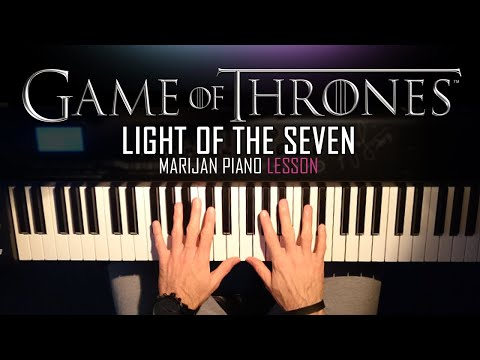 How To Play: Game Of Thrones - Light Of The Seven | Piano Tutorial Lesson + Sheets thumbnail