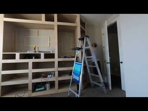 Master Bedroom Built In Final Cut Pt 1