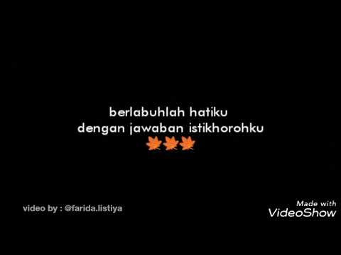 Lyric Assalamualaikum Cinta - Nindi Feat Gusti - Ost Jbab Part 3