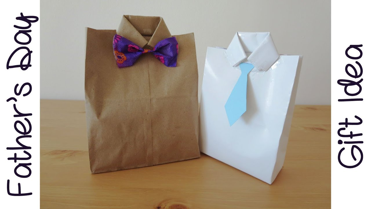 Father 39 s day gift idea goodie gift bag sunny diy youtube for Idea door gift diy