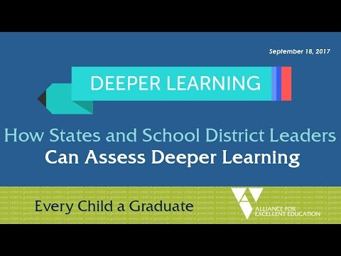 How States and School District Leaders Can Assess Deeper Lea