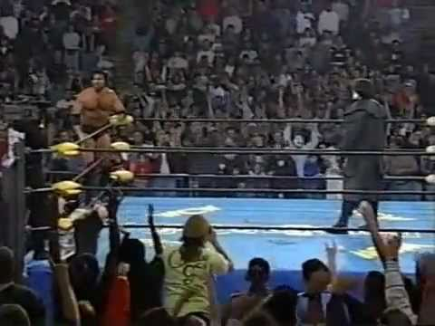WCW Sting Returns 1997 - YouTube