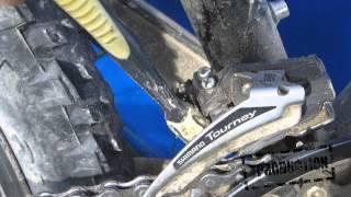 Смазка велосипеда: Смазка и очистка велосипедной цепи(Видео урок посвящен тому, как правильно очистить велосипедную цепь от грязи, смазать ее, а главное чем ее..., 2015-08-30T17:55:23.000Z)