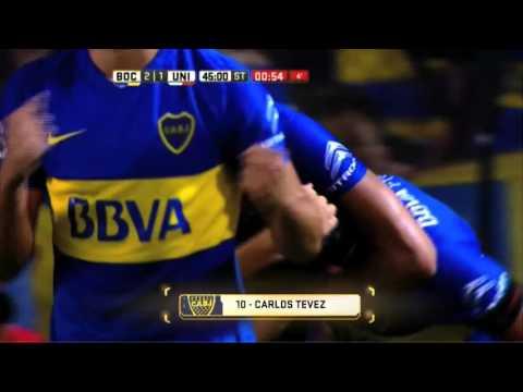 Tevez la embocó sobre el final y le regaló la primera victoria a Guillermo