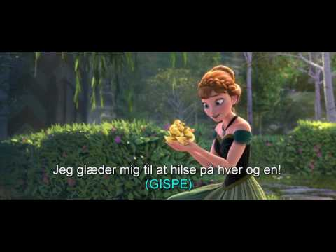 Frozen-For the first time in forever DANISH