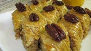 Рецепт - Пахлава(На сайте http://www.fotokulinary.ru/ представлены кулинарные рецепты только домашнего, собственного приготовления..., 2013-06-22T10:28:11.000Z)