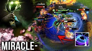 Miracle- Enigma + gh Naga on Tier 8 Battlecup - EPIC Wombo Combos - Dota 2