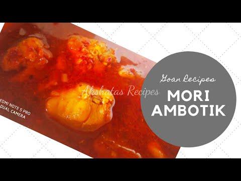 GOAN MORI/SHARK FISH AMBOTIK RECIPE