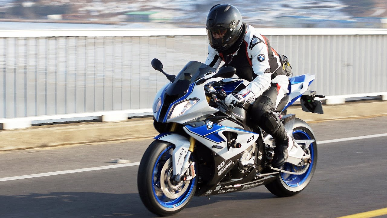 BMW S1000RR HP4 Riding Movie