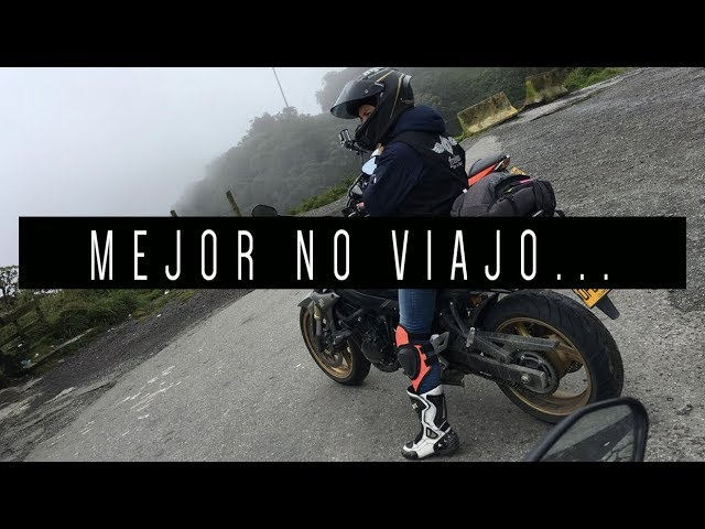 MEJOR NO VIAJO | RUTA PELIGROSA GSR750 MT07