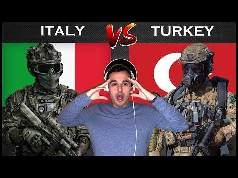 Italian Reaction To 🇮🇹 🇹🇷 Italy vs Turkey - Military Power Comparison 2021