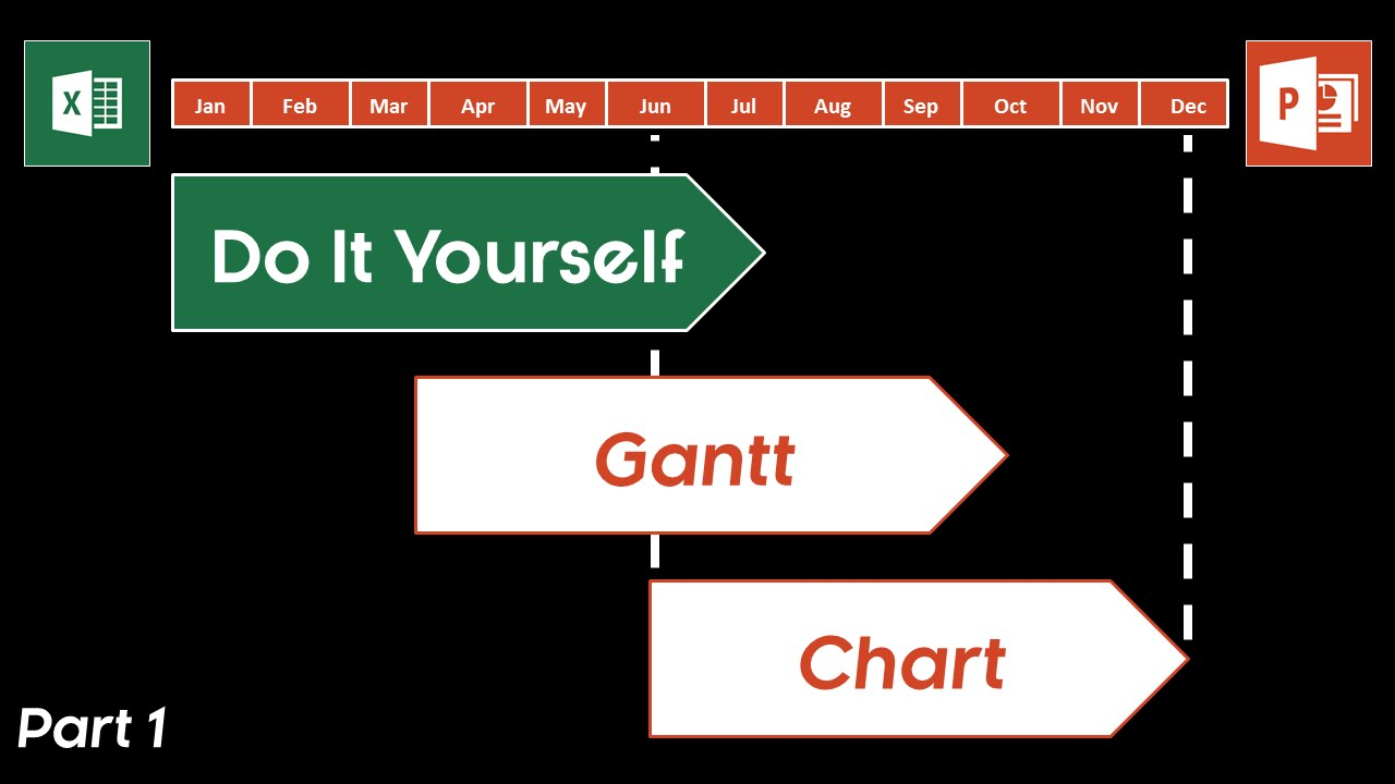 How to make a gantt chart in powerpoint excel into powerpoint how to make a gantt chart in powerpoint excel into powerpoint shapes youtube geenschuldenfo Choice Image