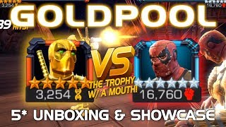 Goldpool Unboxing & Battle vs. Masacre (Uncollected) w/ Tips (feat. Goldpool!!!) | MCoC