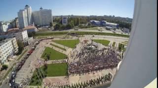 Университетская площадь БелГУ 1 сентября 2016 года Timelapse