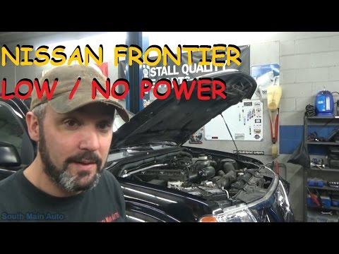 Nissan Frontier – Low / No Power Complaint