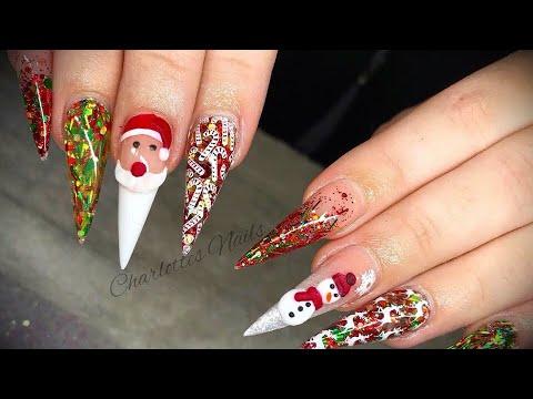 Acrylic Nails Designs 3d Nails