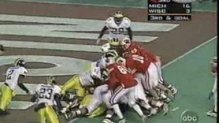1997: Michigan 26 Wisconsin 16