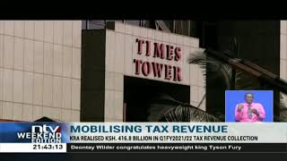 KRA realised Sh 416.8B on Q1 FY2021/22 tax revenue collection