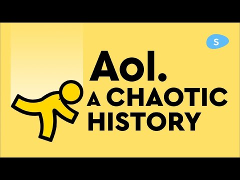 AOL RIse and Fall: A Chaotic History