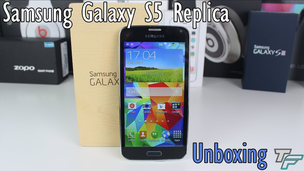 samsung galaxy s5 replica unboxing dhgate youtube. Black Bedroom Furniture Sets. Home Design Ideas