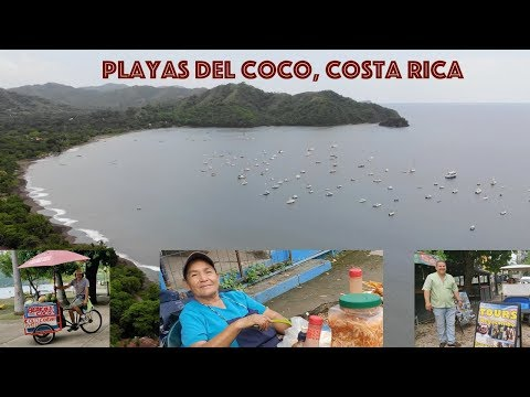 Playas Del Coco, Costa Rica - Walking Around Town And The Beach